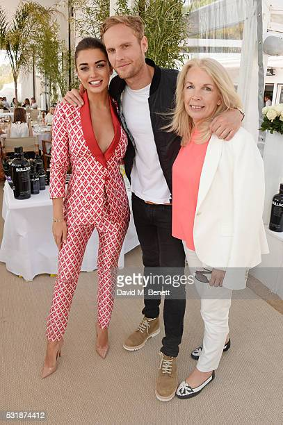 Amy Jackson Jack Fox and BFI CEO Amanda Nevill attend InStyle's 'Spirit In Film' lunch in partnership with Bulldog Gin during the 69th Cannes Film...