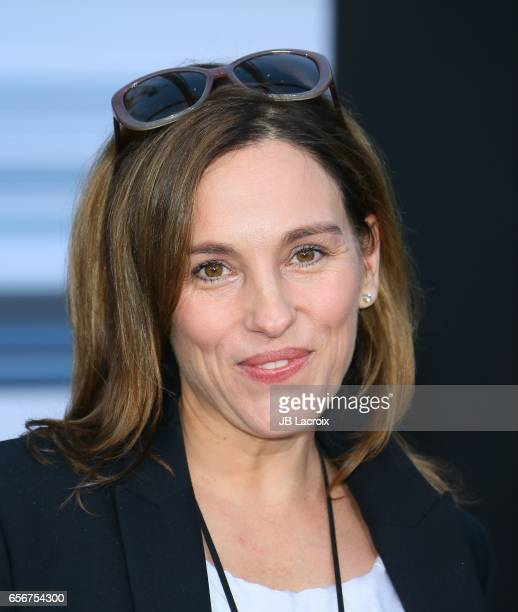 Amy Jo Johnson attends the premiere of Lionsgate's 'Power Rangers' on March 22 2017 in Westwood California