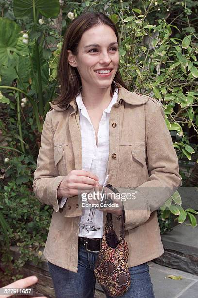 Amy Jo Johnson during Chanel CoHosts a Mother and Daughter Charity Luncheon to Benefit The Accelerated School at Guber's Home in Bel Air California...