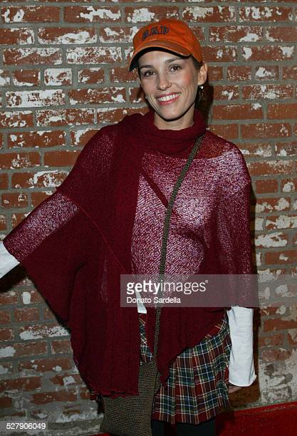 Amy Jo Johnson during Nick Kang and Activision Along with Puma Celebrate The Launch of True Crime Streets of LA Video Game at Ivar Studios in...