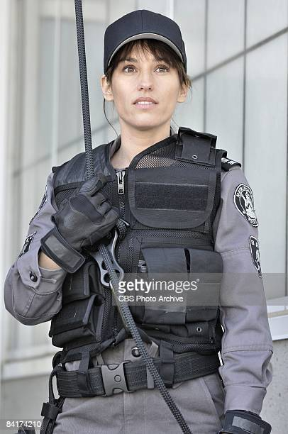 Amy Jo Johnson stars as Jules Callaghan in FLASHPOINT returning with allnew episodes Friday Jan 9 on the CBS Television Network