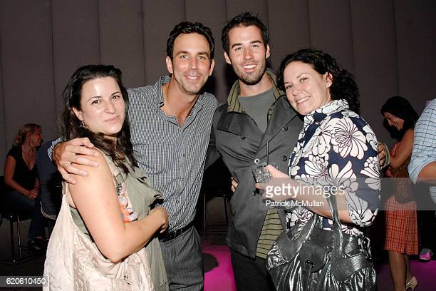 Amy Kaufman Bruce Richman Jimmy Freeman and Barrie Robinson attend The SEPHORA PROJECT Launch Party at Zune LA on September 3 2008 in Los Angeles CA