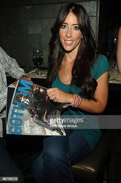 Amy Kaufman Gillies attends the VIP screening of Spread at the Bryant Park Hotel Cellar Bar on August 10 2009 in New York City