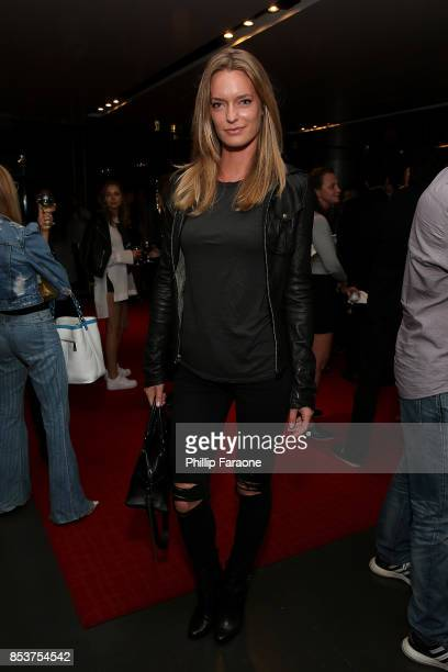 Amy Kingston attends BOLD Films special Los Angeles screening of STRONGER at CAA's Ray Kurtzman Theater at CAA on September 22 2017 in Los Angeles...
