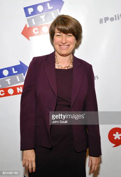 Amy Klobuchar at Politicon at Pasadena Convention Center on July 30 2017 in Pasadena California