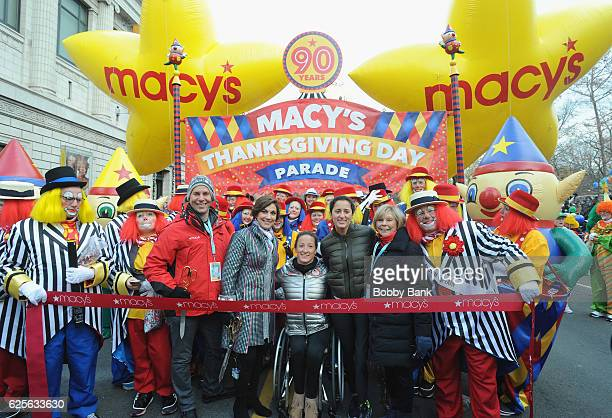 Amy Kule Macy's Thanksgiving Parade exectutive producer attends the 90th Annual Macy's Thanksgiving Day Parade on November 24 2016 in New York City