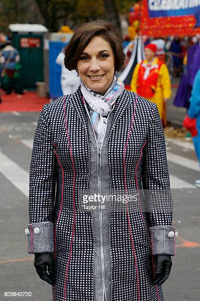 Amy Kule rides in the Macy's Thanksgiving Day Parade on November 24 2016 in New York City