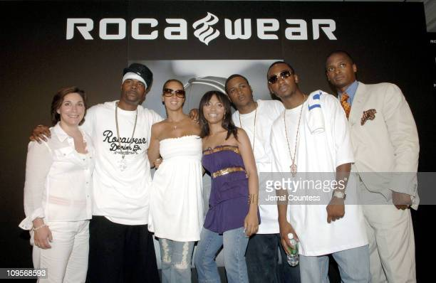 Amy Kule VP of Marketing and promotions at Macy's Memphis Bleek Tracey Waples Sr Vice President of Marketing at Def Jam Teairra Mari Young Gunz and...