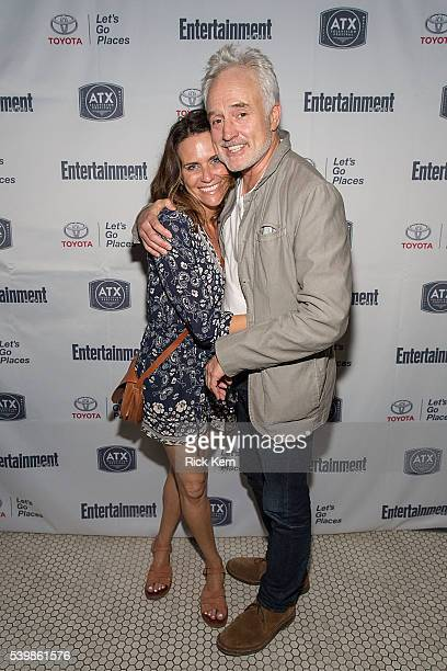 Amy Landecker and Bradley Whitford attend the Ugly Betty Reunion After Party presented with Entertainment Weekly sponsored by Toyota at the ATX...