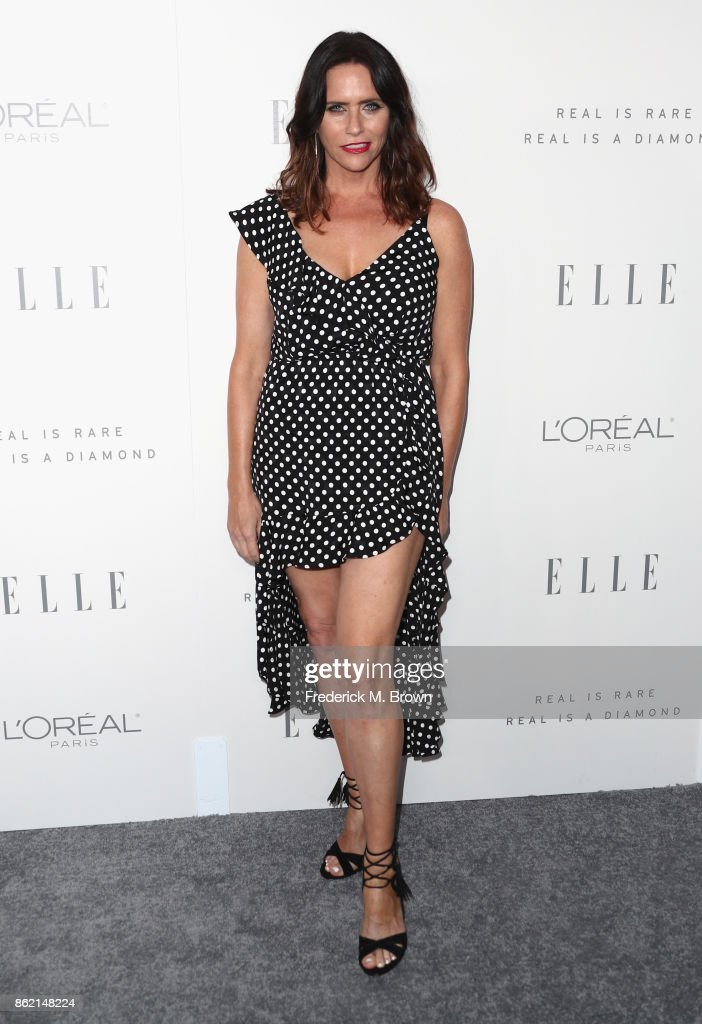 Amy Landecker attends ELLE's 24th Annual Women in Hollywood Celebration at Four Seasons Hotel Los Angeles at Beverly Hills on October 16, 2017 in Los Angeles, California.