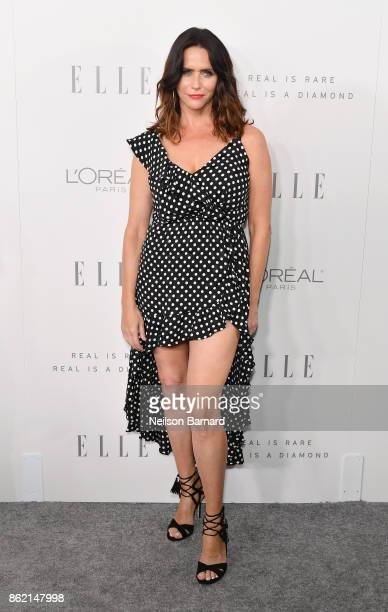 Amy Landecker attends ELLE's 24th Annual Women in Hollywood Celebration presented by L'Oreal Paris Real Is Rare Real Is A Diamond and CALVIN KLEIN at...