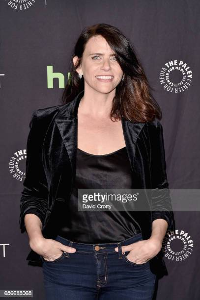 Amy Landecker attends PaleyFest Los Angeles 2017 'An Evening Of Laughs with James Corden and The Late Late Show' at Dolby Theatre on March 22 2017 in...