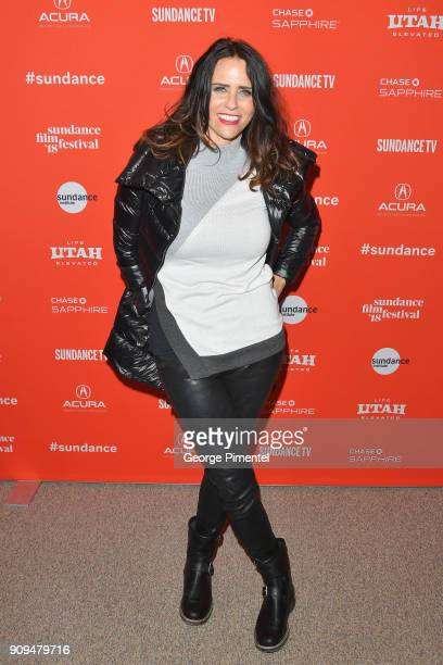 Amy Landecker attends the 'A Kid Like Jake' Premiere during the 2018 Sundance Film Festival at Eccles Center Theatre on January 23 2018 in Park City...