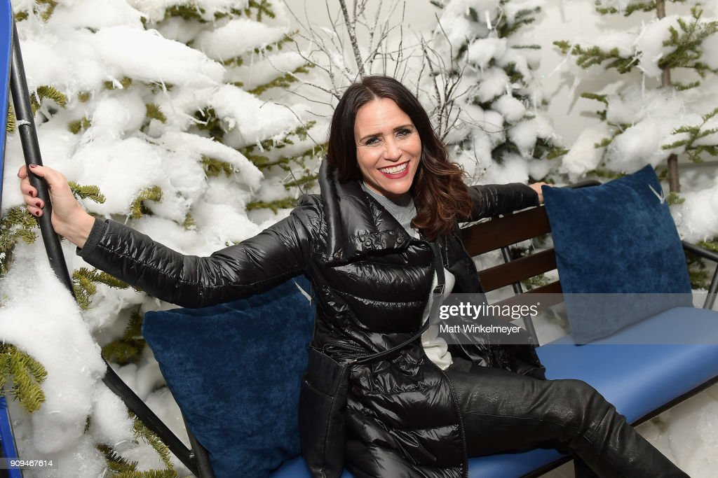 Amy Landecker attends the 'A Kid Like Jake' pre-party at Sundance Film Festival 2018 at The Grey Goose Blue Door on January 23, 2018 in Park City, Utah.