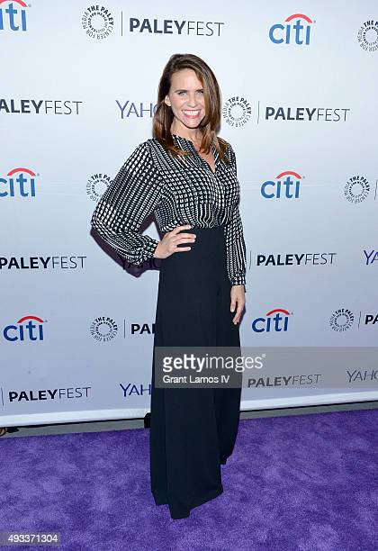 Amy Landecker attends the PaleyFest 2015 Transparent screening at The Paley Center for Media on October 19 2015 in New York City