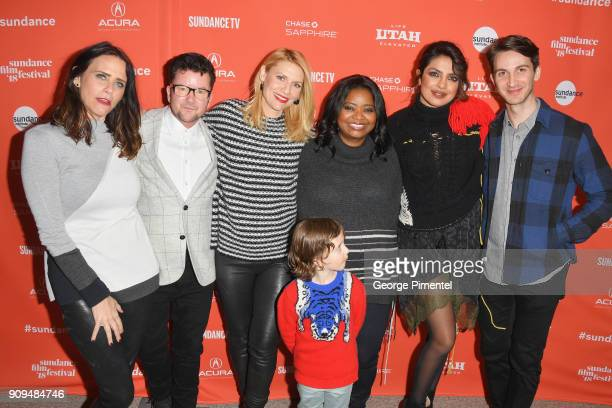 Amy Landecker director Silas Howard Claire Danes Octavia Spencer Priyanka Chopra Daniel Perle and Leo James Davis attend the 'A Kid Like Jake'...
