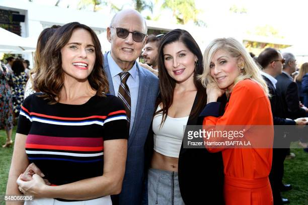 Amy Landecker Jeffrey Tambor Trace Lysette and Judith Light attend the BBC America BAFTA Los Angeles TV Tea Party 2017 at The Beverly Hilton Hotel on...