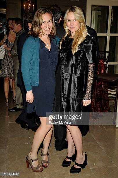 Amy Larocca and Rebekah McCabe attend HBO Documentary Films' New York Premiere Afterparty of ROMAN POLANSKI Wanted and Desired at The Plaza Hotel on...