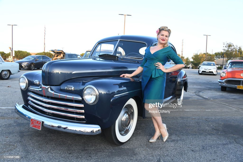 Photo of Amy Lawrence  - car