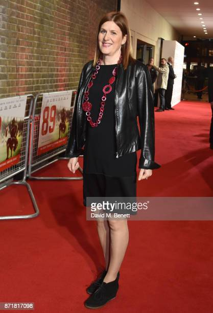 Amy Lawrence attends the World Premiere of '89' at the Odeon Holloway on November 8 2017 in London England