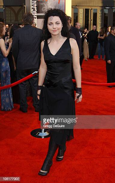 Amy Lee during 31st Annual American Music Awards Arrivals at Shrine Auditorium in Los Angeles California United States