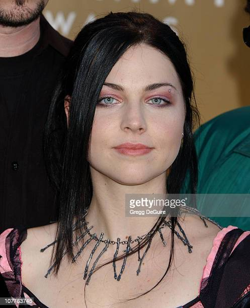 Amy Lee during The 46th Annual GRAMMY Awards Arrivals at Staples Center in Los Angeles California United States