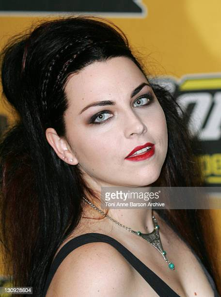 Amy Lee of Evanescence during 2004 MTV European Music Awards Arrivals at Tor di Valle in Rome Italy