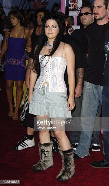 Amy Lee of Evanescence during 2004 MTV Video Music Awards Arrivals at American Airlines Arena in Miami Florida United States