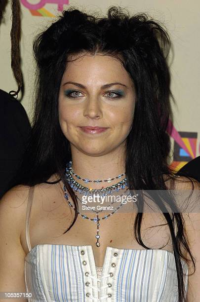 Amy Lee of Evanescence during 2004 MTV Video Music Awards Press Room at American Airlines Arena in Miami Florida United States