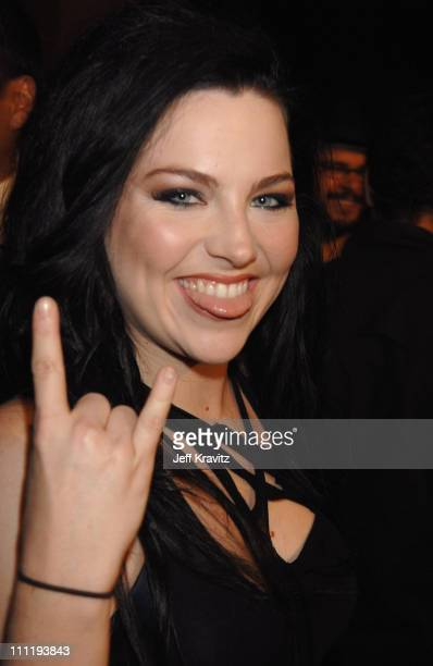 Amy Lee of Evanescence during MTV Video Music Awards Latin America 2006 Red Carpet at Palacio de los Deportes in Mexico City Mexico