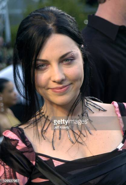 Amy Lee of Evanescence during The 46th Annual Grammy Awards Arrivals at Staples Center in Los Angeles California United States