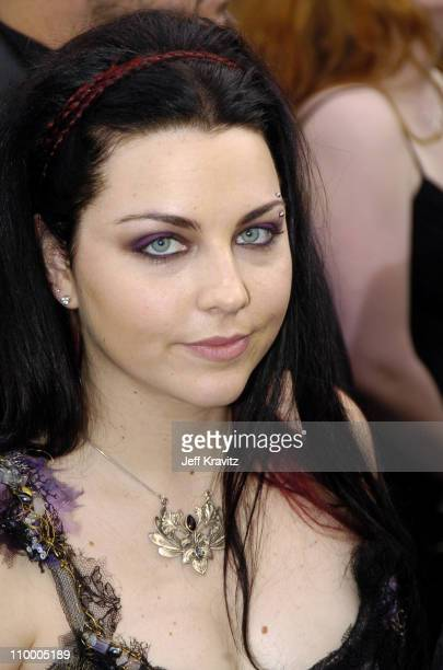 Amy Lee of Evanescence during The 47th Annual GRAMMY Awards Arrivals at Staples Center in Los Angeles California United States
