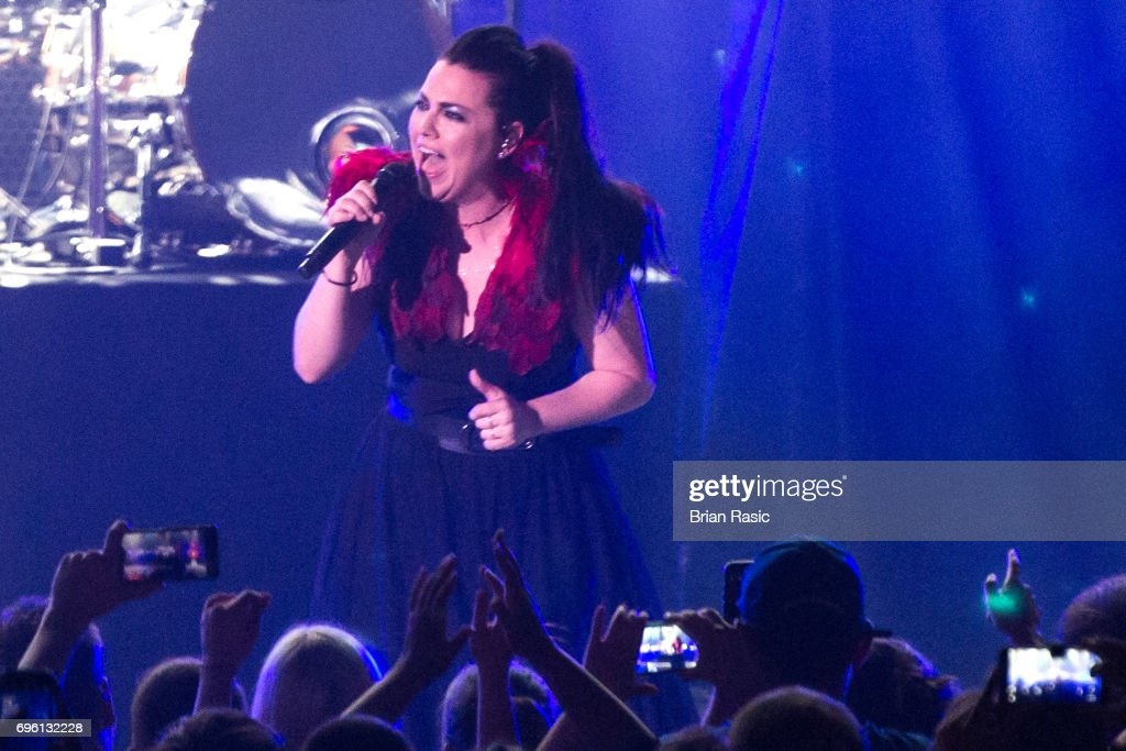 Evanescence Perform At The Eventim Apollo, Hammersmith
