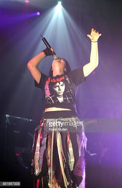Amy Lee of Evanescence performs at the Tabernacle in Atlanta September 12 2003