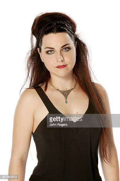 Amy Lee of Evanescence poses for a studio portrait during the MTV Europe Music Awards 2004 at Tol di Valle November 18 2004 in Rome Italy