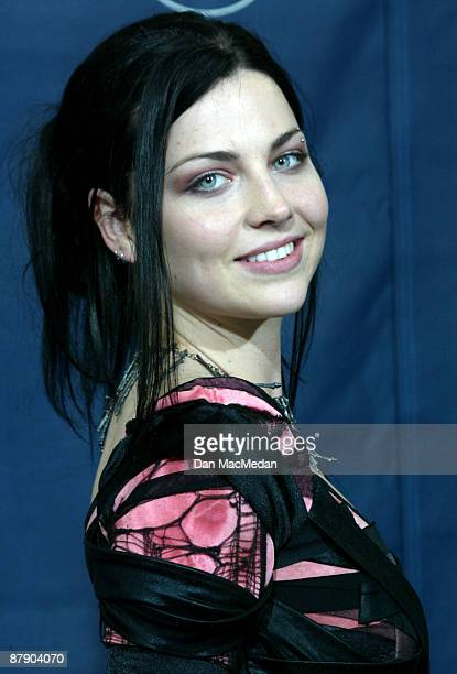 Amy Lee of Evanescence winners for Best New Artist and Best Hard Rock Performance