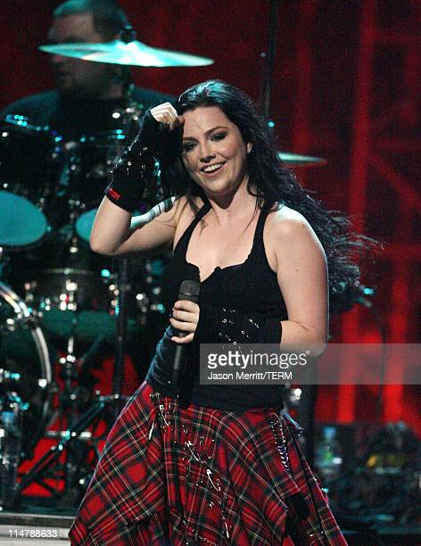 Amy Lee of Evanesence performs 'Call Me When You're Sober'/'Bring Me to Life'