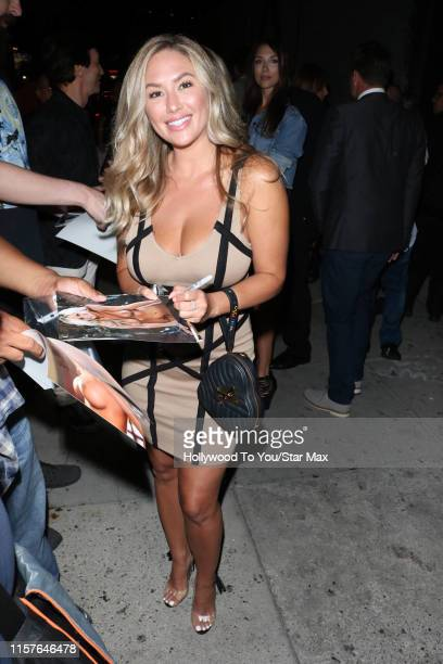 Amy Leigh Andrews is seen on July 24 2019 at Los Angeles