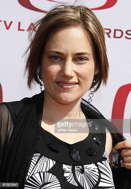 Amy Linker arrives to The 6th Annual 'TV Land Awards' on June 8 2008 at the Barker Hanger in Santa Monica California