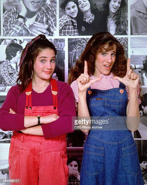 PEGS Amy Linker as Lauren Hutchinson and Sarah Jessica Parker as Patty Greene Image dated 1982