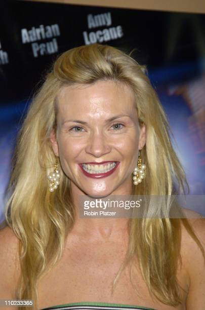 Amy Locane during E5 Special Screening at UA Battery Park Stadium in New York City New York United States
