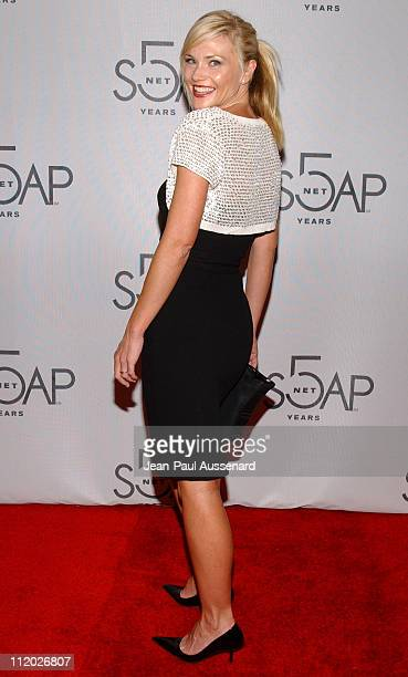 Amy Locane during SOAPnet 5th Anniversary Party at Bliss in Los Angeles California United States