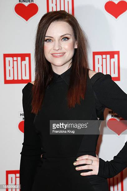 Amy Macdonald attends the 'Ein Herz Fuer Kinder Gala 2012' on December 15 2012 in Berlin Germany