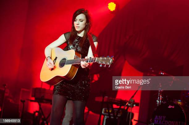Amy MacDonald performs as part of Mencap's Little Noise Sessions at St JohnAtHackney on November 25 2012 in London England