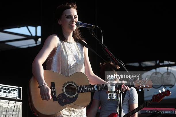 Amy MacDonald performs at Day 4 of Rock In Rio on May 29 2010 in Lisbon Portugal