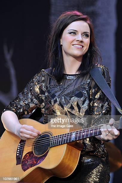 Amy Macdonald performs at Gurten Festival on July 18 2010 in Bern Switzerland