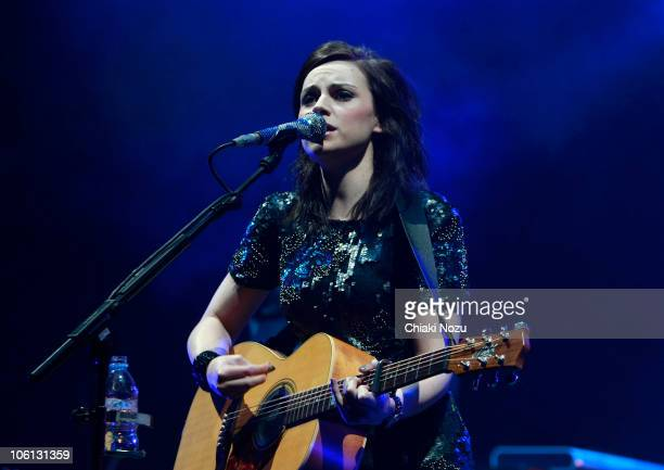 Amy Macdonald performs at Hammersmith Apollo on October 26 2010 in London England