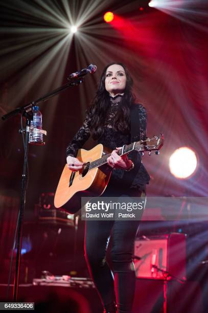 Amy MacDonald performs at Le Trianon on March 7 2017 in Paris France