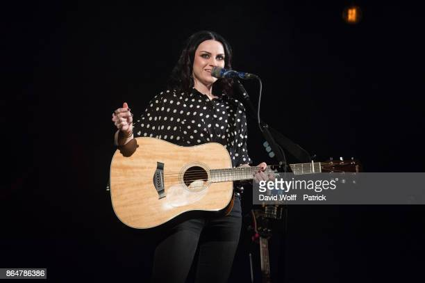 Amy Macdonald performs at Le Trianon on October 21 2017 in Paris France