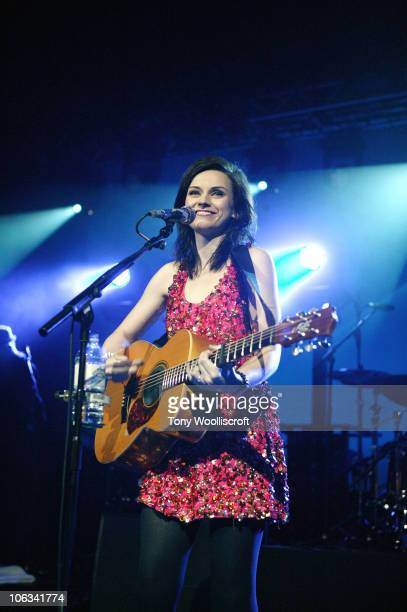Amy MacDonald performs at O2 Academy on October 28 2010 in Birmingham England